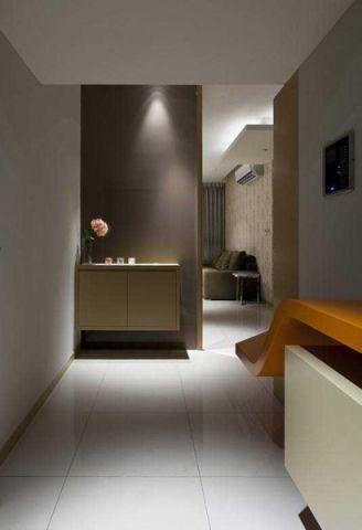 混搭风格二居室61平米家装设计