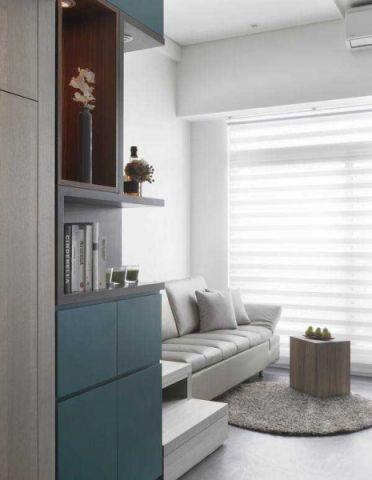 现代简约风格LOFT60平米家装设计图