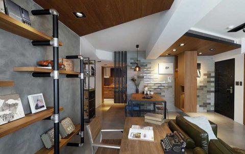 公寓63平米简约风格设计方案