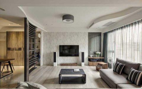 三居室94平米北欧风格室内效果图