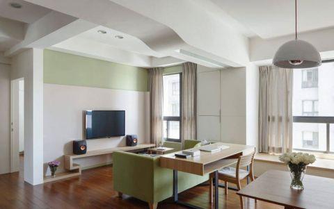简约风格一居室60平米装修