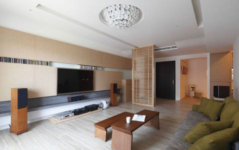 108平米二居室日式风格装修