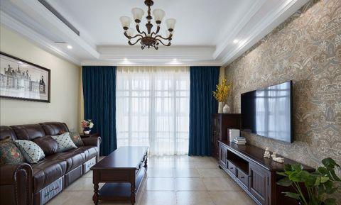 176平米二居室美式风格装修
