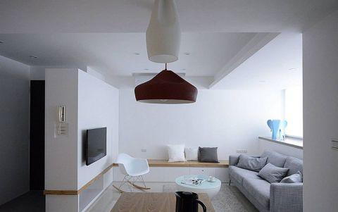 二居室89平米简约风格装修