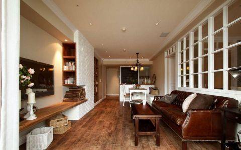 美式风格三居室99平米装修
