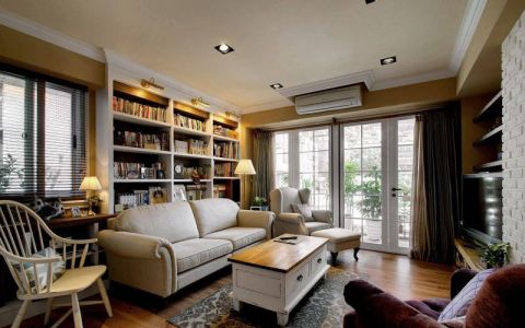 三居室120平米美式风格装修