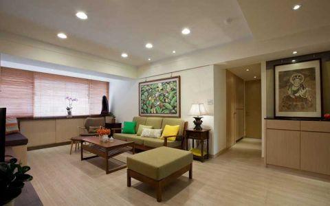 二居室61平米简中风格装修