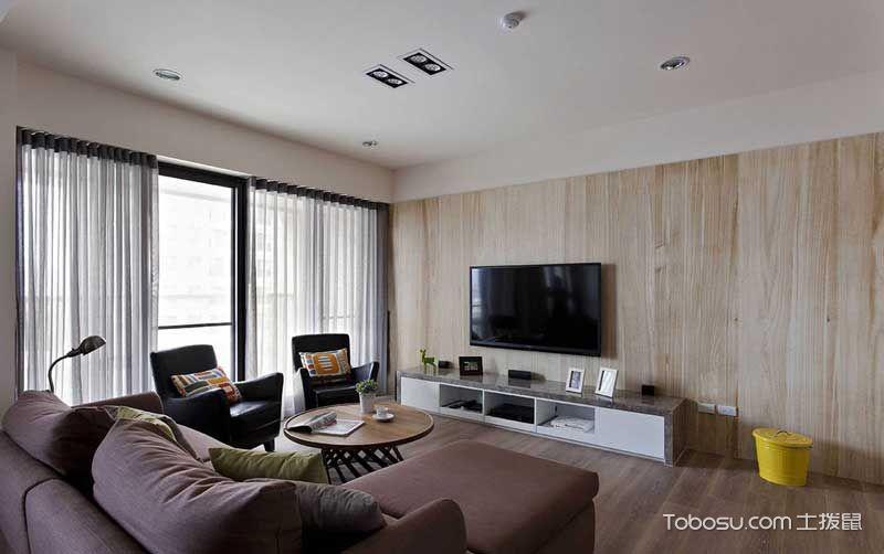 2021简约60平米以下装修效果图大全 2021简约二居室装修设计
