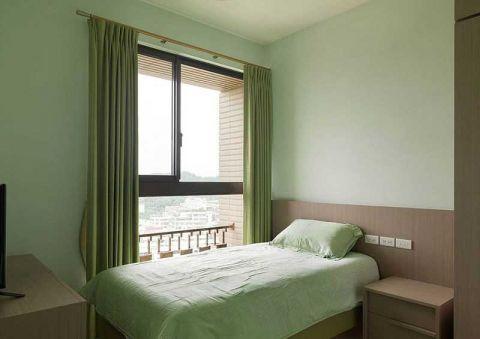 美感卧室现代简约单人床装修图