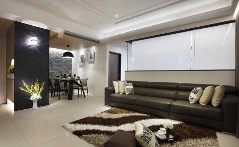 简约风格二居室95平米装饰设计图片