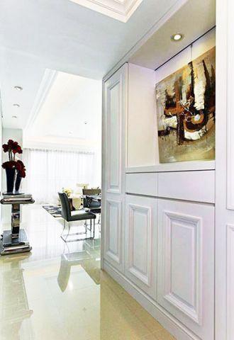 美轮美奂白色玄关设计图