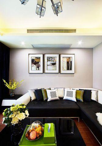 119平米三居室现代简约风格设计图欣赏