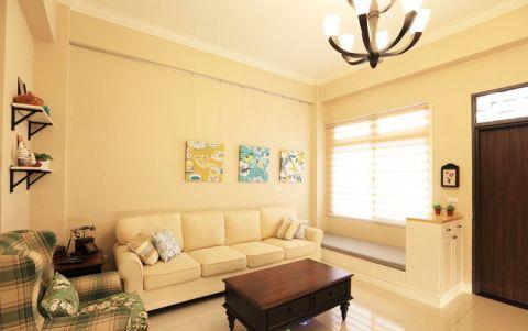 103平米三居室美式风格装修设计