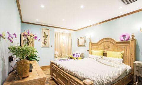 2020新古典卧室装修设计图片 2020新古典床图片