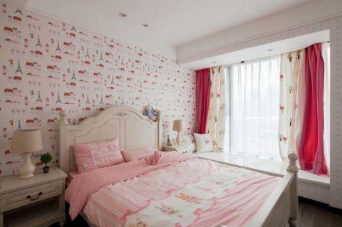 2020简约卧室装修设计图片 2020简约窗帘装修设计图片