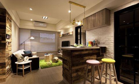 公寓60平米简欧风格装修方案