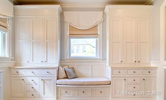 21款白色储物柜推荐  飘窗的妙用小绝招