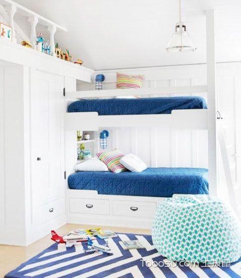 儿童卧室效果图 17图造温馨地中海