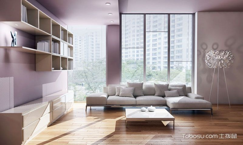 17款L型沙发设计图 大气简约风走起