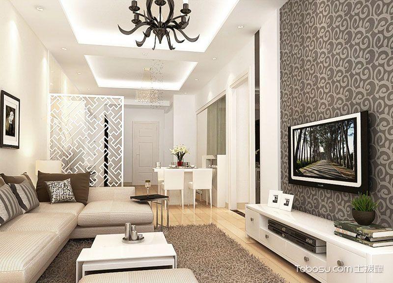 最新客厅电视背景墙图片 秀出墙面优雅范