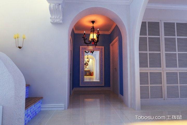 走廊也宽敞明亮 17个地中海走廊装修设计