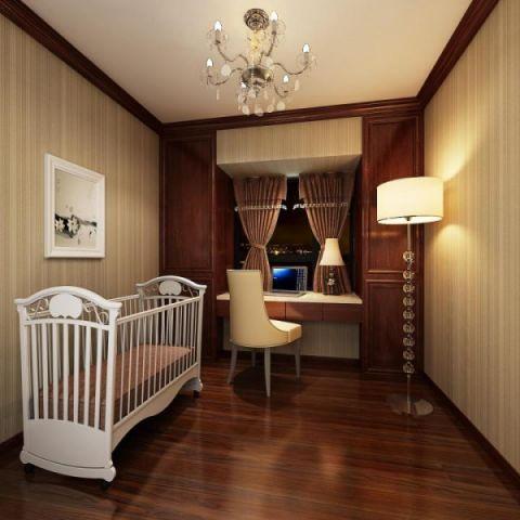90平米套房中式风格装修案例