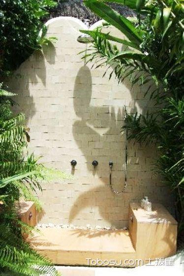 在花园洗澡 20款花园卫生间设计图