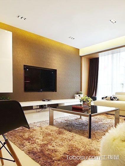 简洁+实用 18款简约电视背景墙