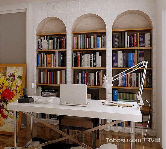 唯美读书天地 18张纯白书桌设计图
