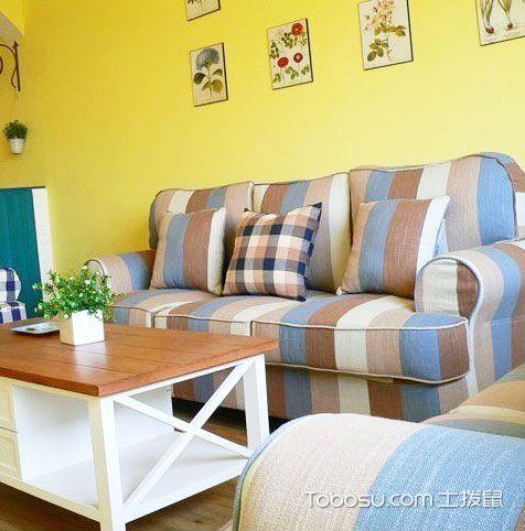 舒适清新兼顾 17款地中海沙发图片