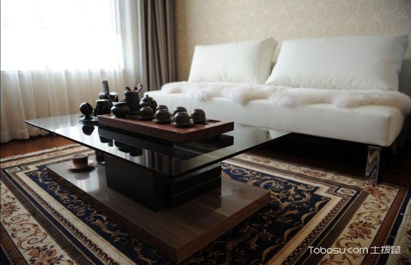 2019古典起居室装修设计 2019古典茶几效果图