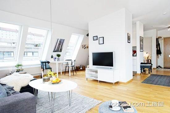 北欧原木色地板 19图打造清新舒适家