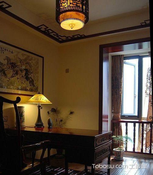 古韵古香的书屋 14张复古书桌设计图