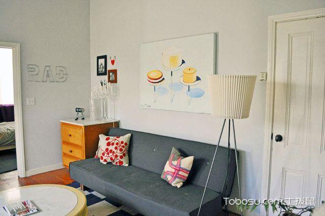 18张现代简约沙发背景墙图片 简洁大方