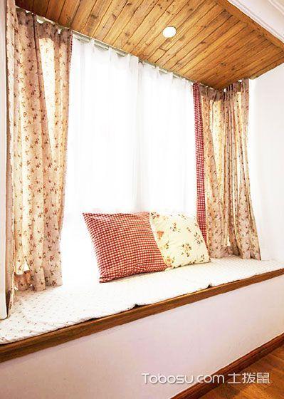 19款窗帘图片 营造温馨飘窗氛围