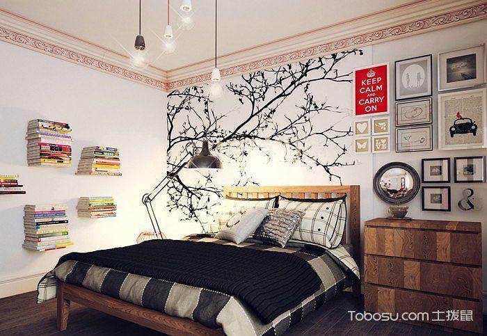 经典现代风格设计 16个现代卧室背景墙