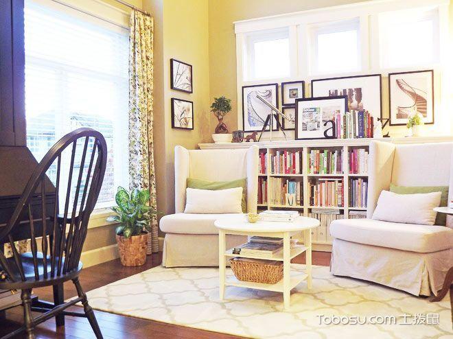客厅来点书 15款客厅书架设计