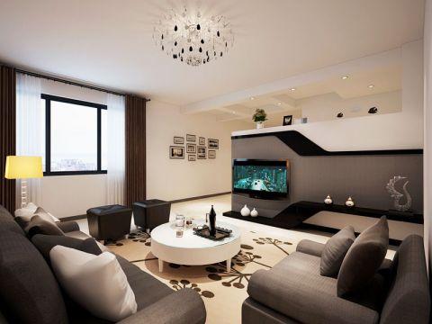 套房131平米现代简约风格装修
