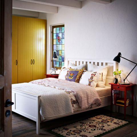 雅致卧室背景墙构造图