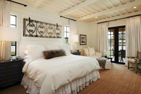 2020混搭卧室装修设计图片 2020混搭窗帘装修设计图片
