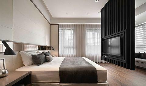 温暖卧室简约构造图