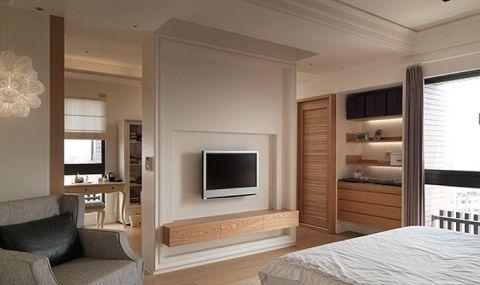 卧室地砖简约装潢实景图片