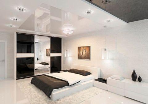 现代卧室床装饰图片