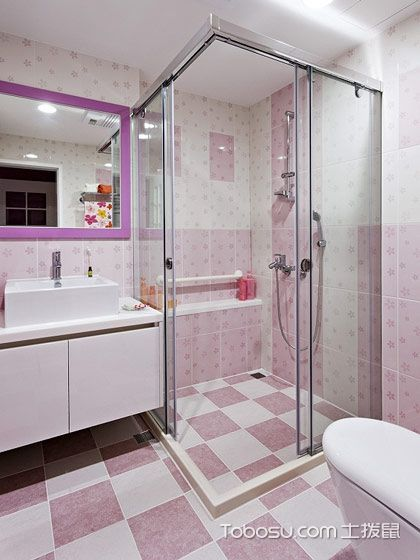 2020混搭浴室设计图片 2020混搭淋浴房设计图片