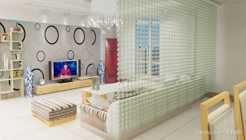 11张客厅软隔断设计图 唯美古典气质