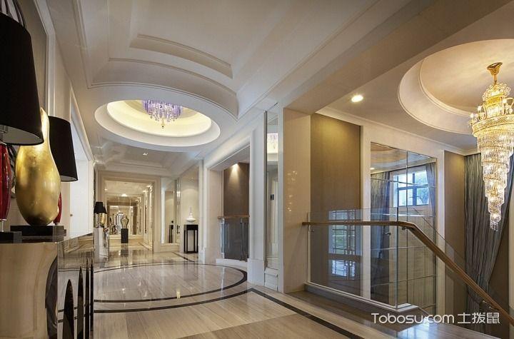 2018欧式起居室装修设计 2018欧式灯具图片