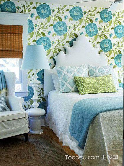 小清新壁纸 14款卧室背景墙效果图