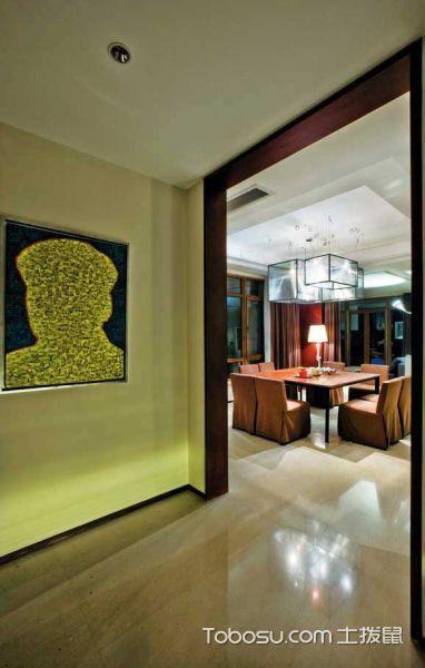 简约风格餐厅欣赏 11张餐厅餐厅过道设计图