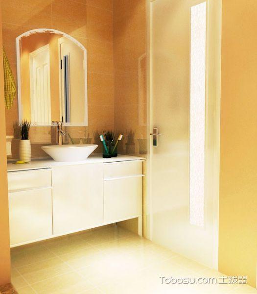 14张白色浴室柜效果图 简单百搭