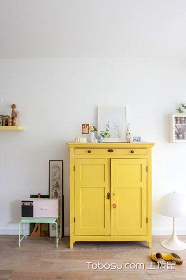 16个彩色玄关柜设计 让你眼前一亮